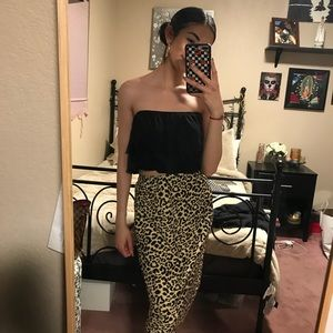 LF / EMMA AND SAM BLACK TUBE TOP